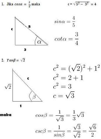 Materi Trigonometri Sma Kelas X Pengertian Dan Contoh Soal Aldiansahpermana